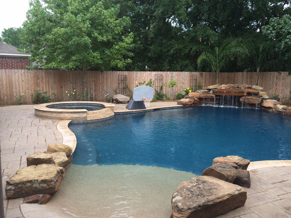 mont belvieu backyard amenities houston pool builder in ground