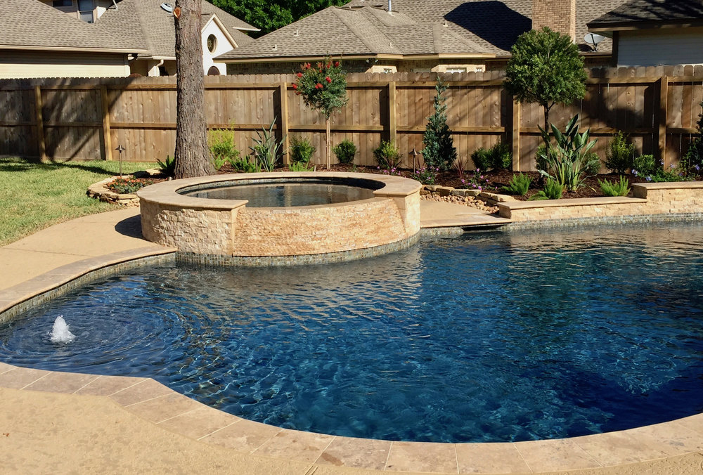 Backyard Amenities | Houston Pool Builder - In Ground, Custom Pool ...