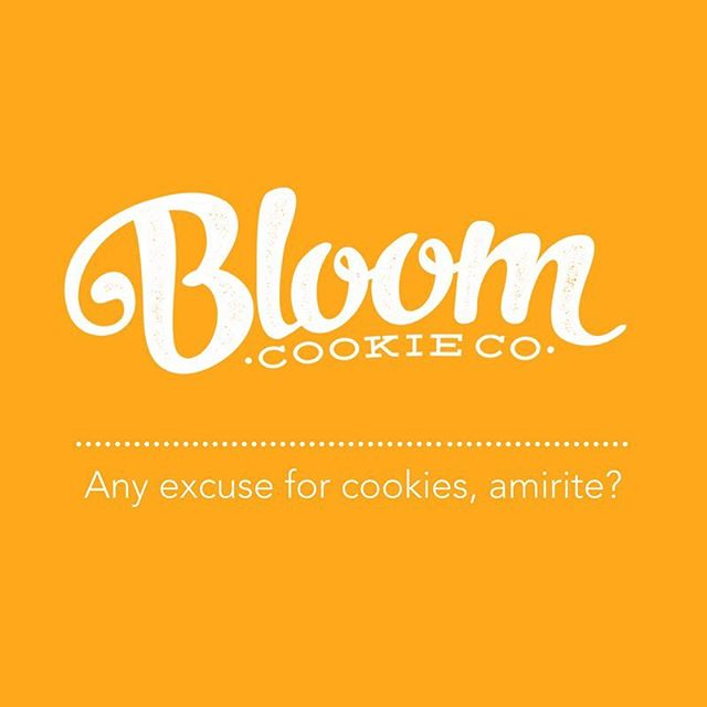 Oh yeah - did we mention we're selling @bloomcookieco? Yup. Get your London Fog, Chocolate Chip, and Oatmeal Stout 'til 4pm at @ritchie_league 🍪