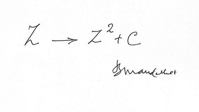 Mandelbrot's formula for fractals