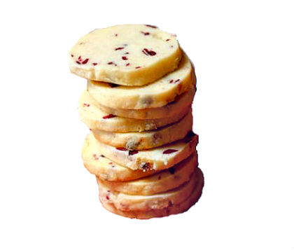 Lemon Cranberry Shortbread  $1.25 each