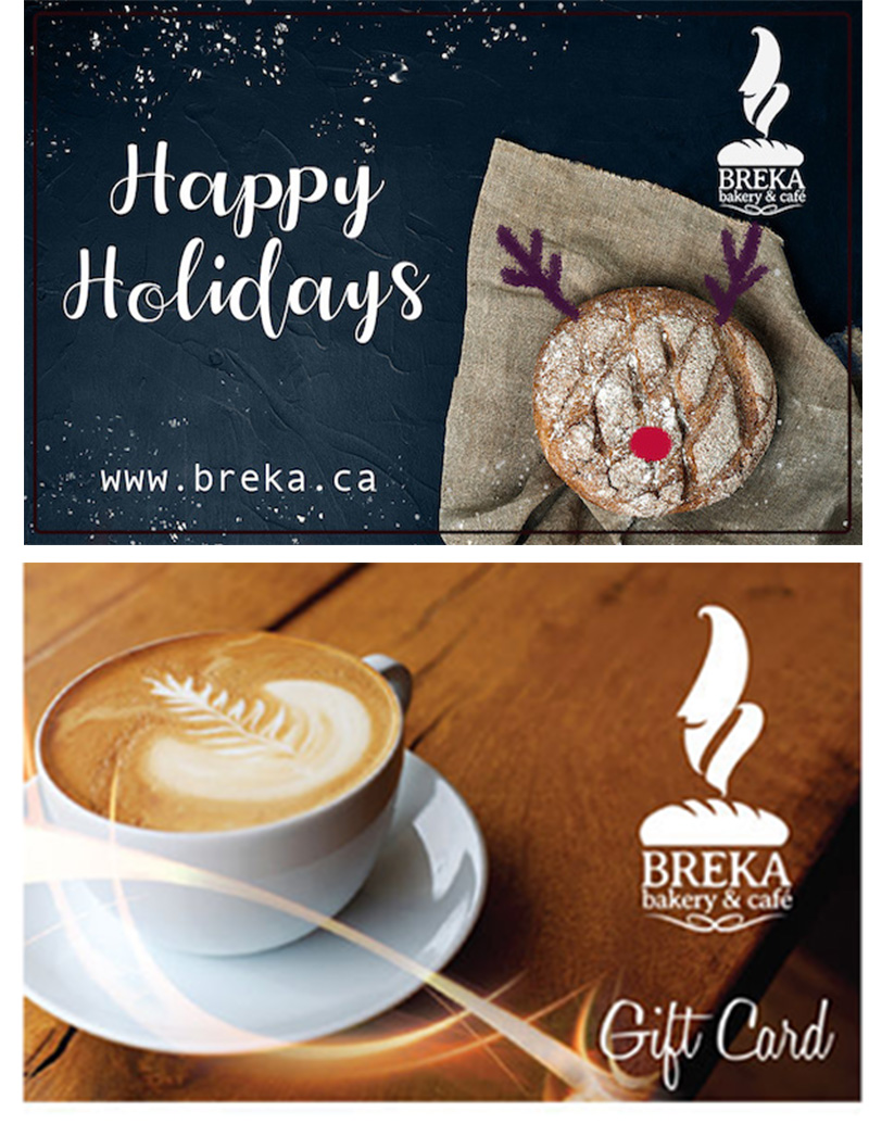 BREKA GIFT CARD - Available in Stores!