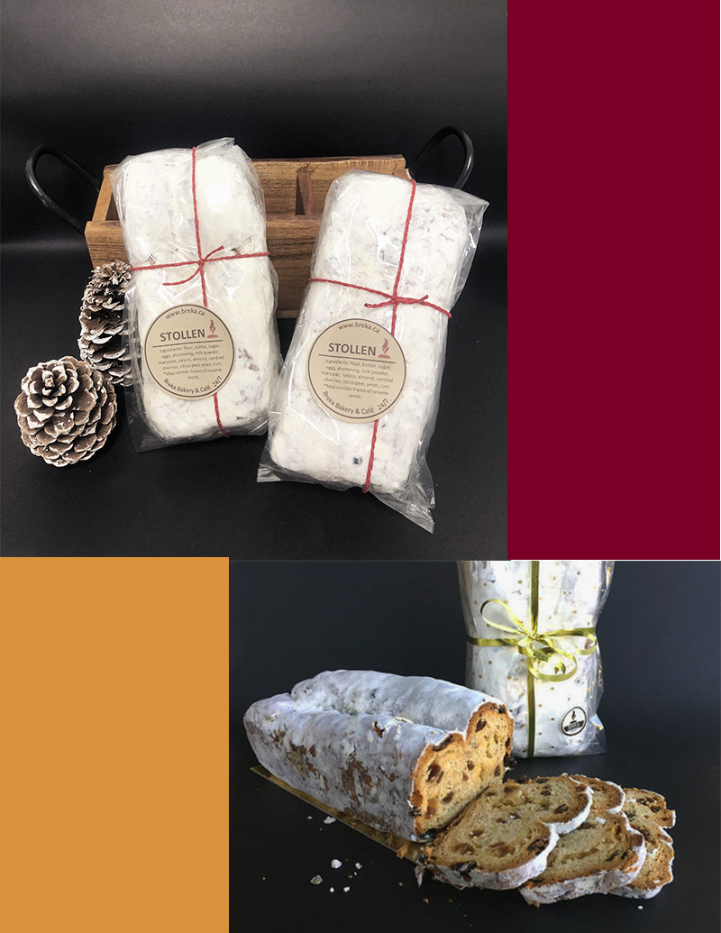 Christmas Stollen - with Marzipan $18