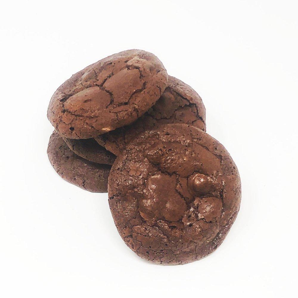 BELGIAN CHOCOLATE BROWNIE COOKIE - $1.25 each