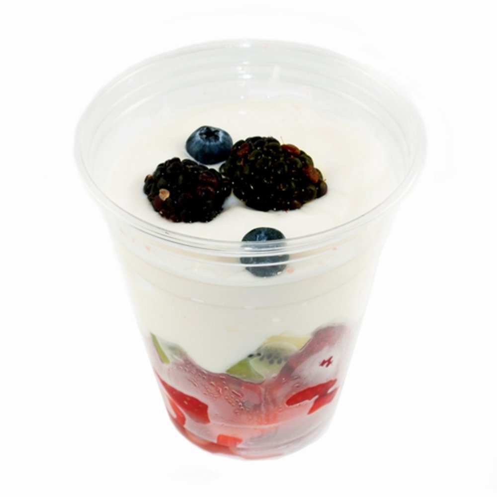 YOGURT PARFAIT with GRANOLA - $5.75 - Not Available at FRASER