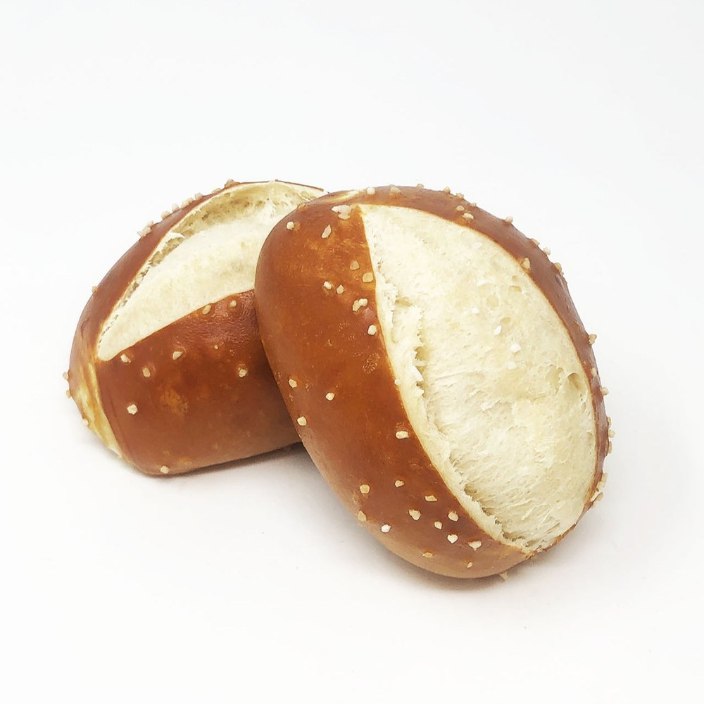 PRETZEL BUN - $1.75 each - FRIDAYS & SATURDAYS ONLY!