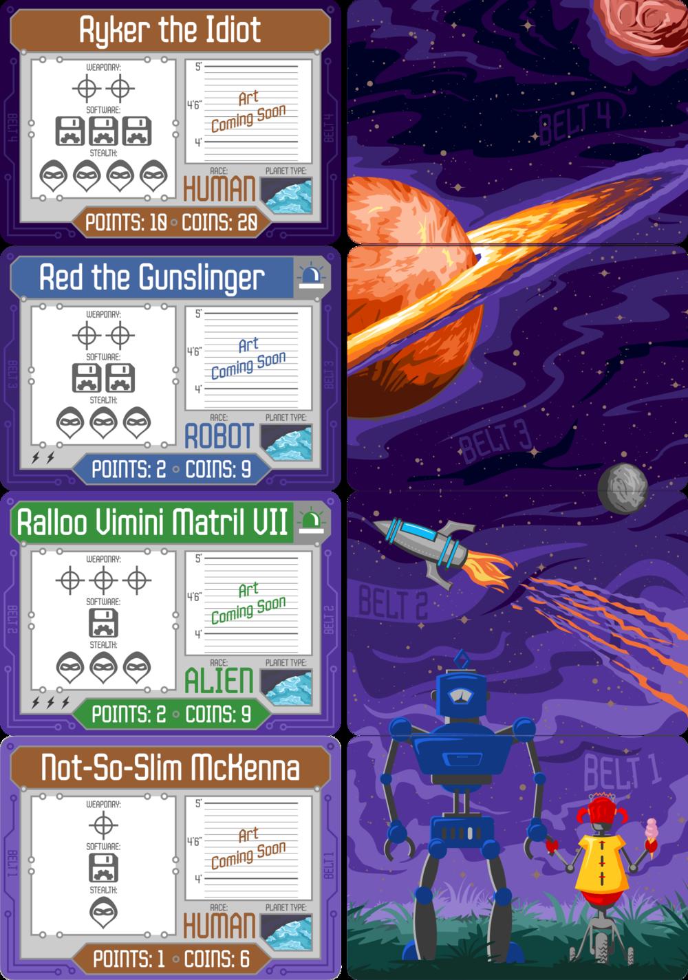 RDIOS Target Cards