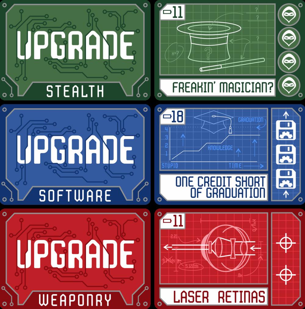 RDIOS Upgrade Cards