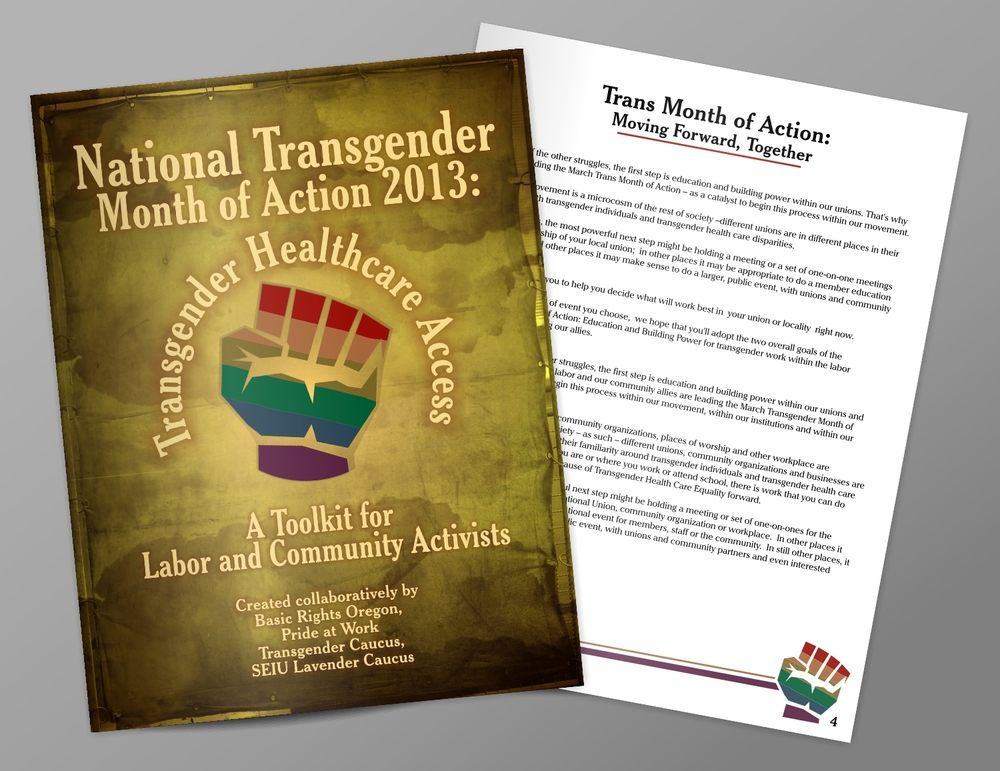 National Transgender Month of Action 2013 Toolkit