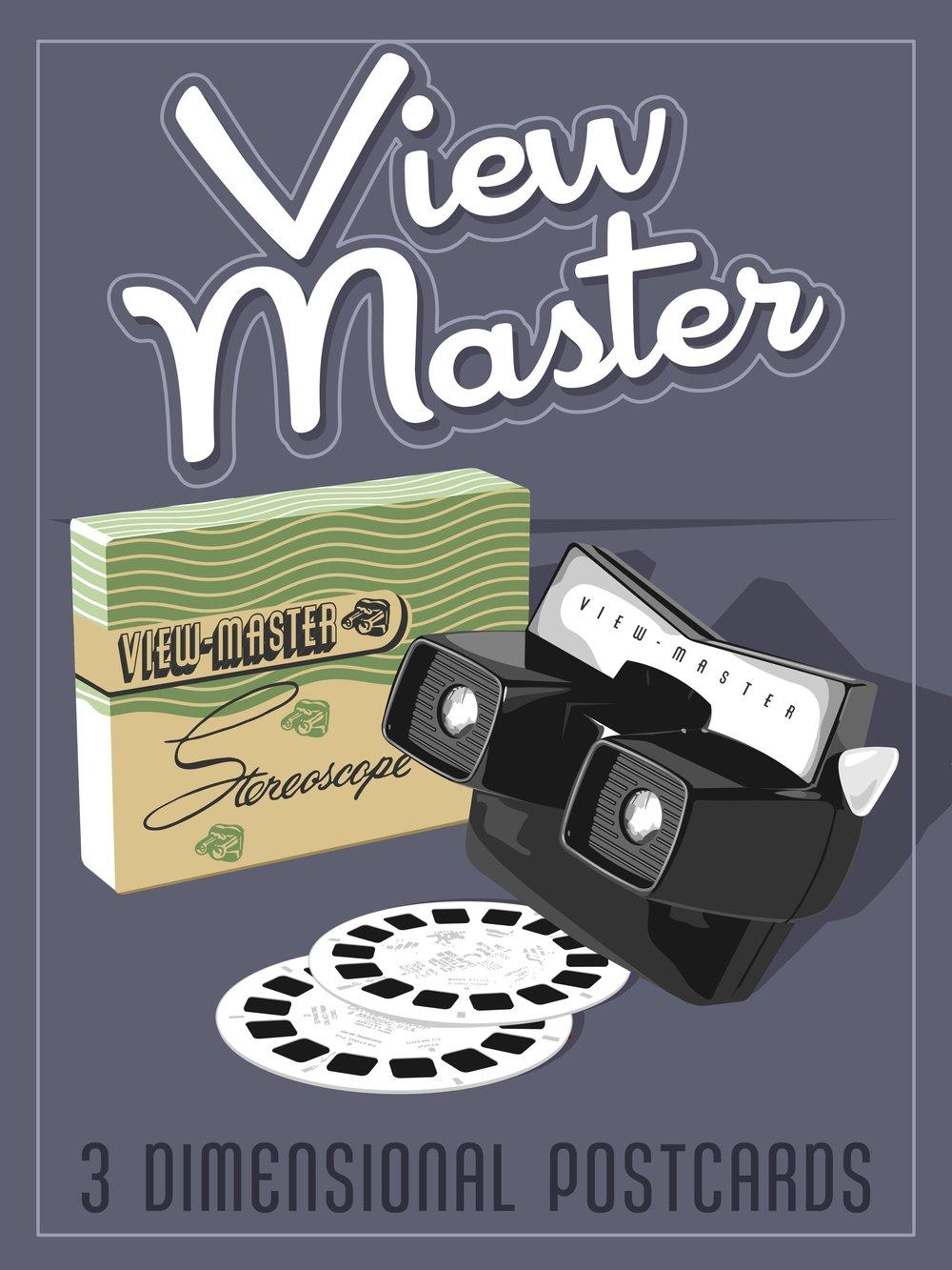 ViewMasterMidcenturyModernPoster