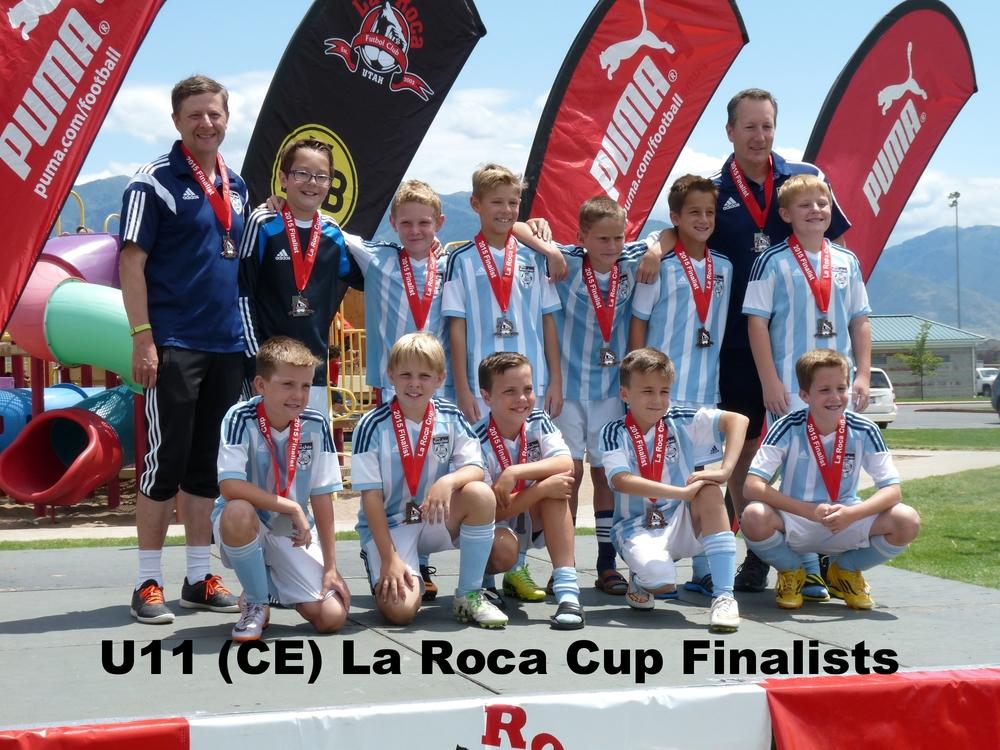 U11 La Roca Cup Finalist 2015