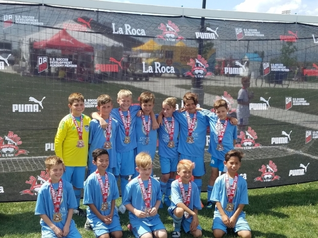 Our '08 boys got second place in La Roca Cup.