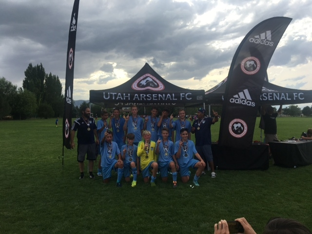 Our '04 boys are Utah Invitational Champs.
