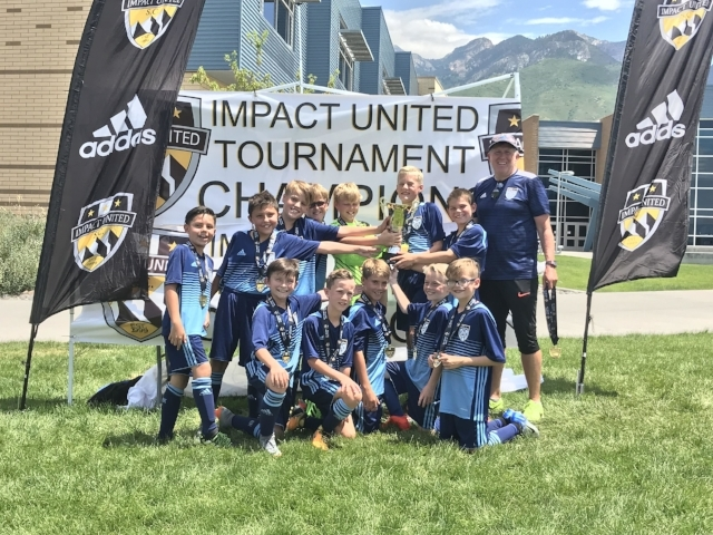 Our '07 boys are Impact Tournament Champs.