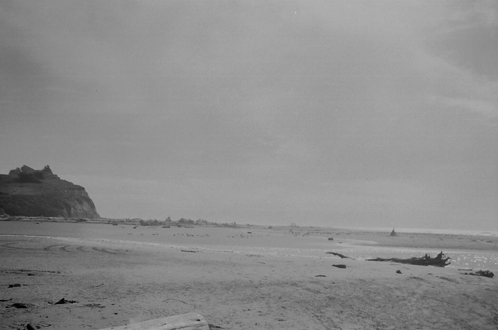 Davenport Beach, Santa Cruz. California.