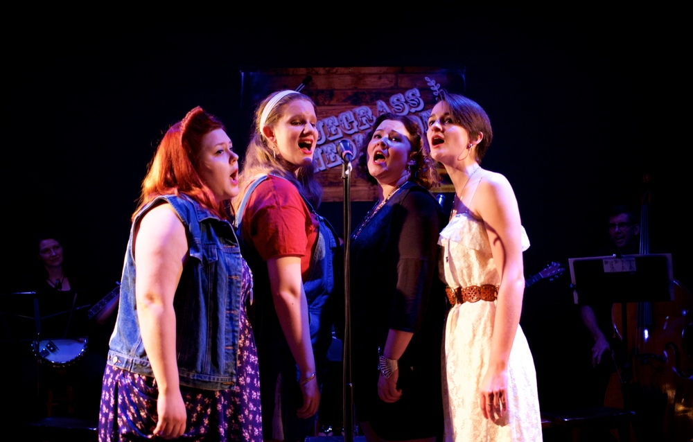 Brittany Alyse Willis, Rebecca Speas, Karen Lange, and Rebecca Phillips