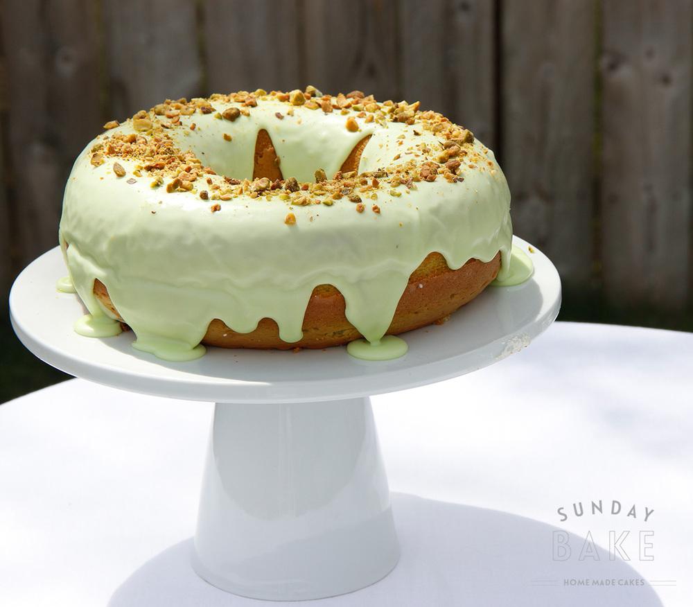 Sunday Bake - Pistachio Bundt Cake