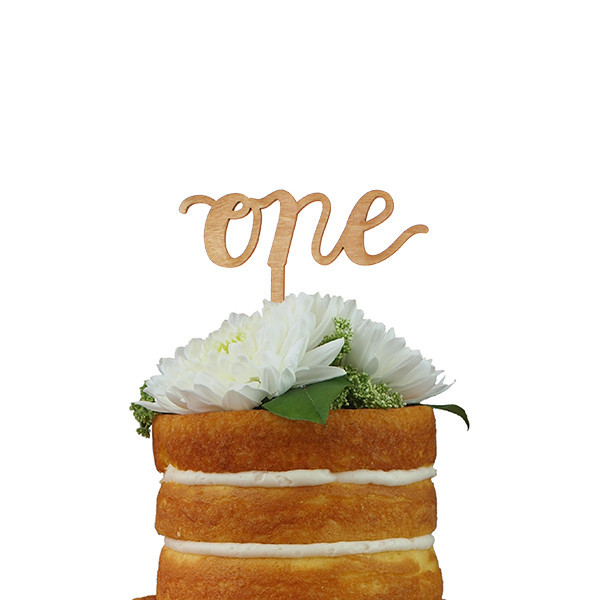 calligraphy number cake topper sunday bake the most delicious