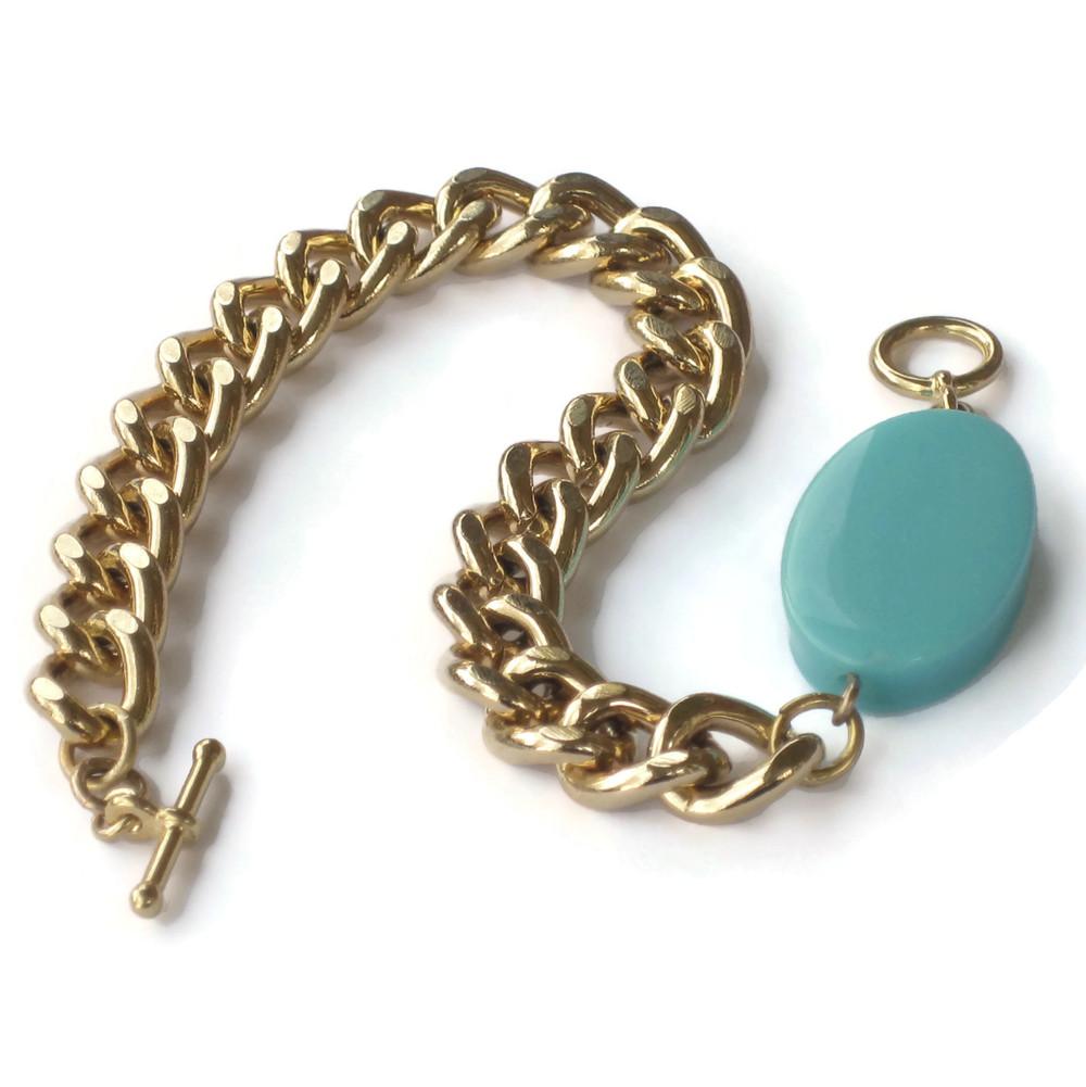 Ovaltine bracelet turquoise