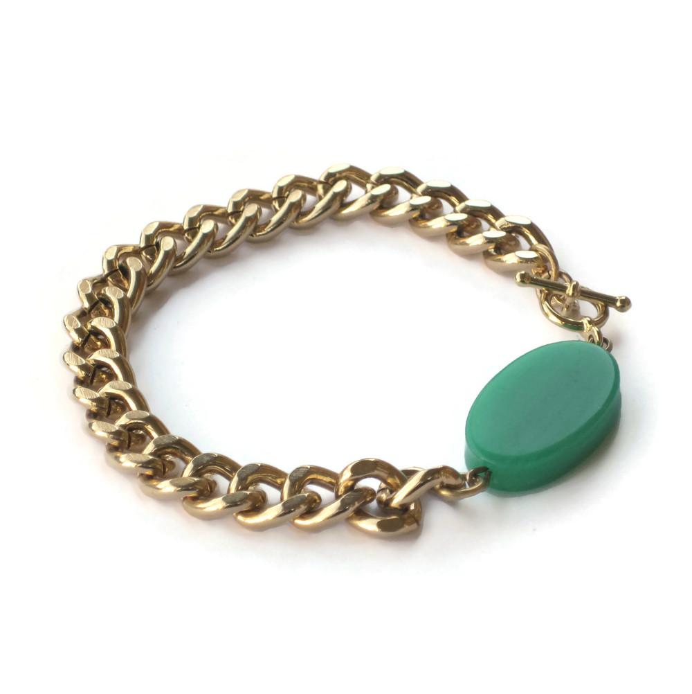 Ovaltine bracelet green