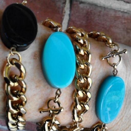 Ovaltine bracelet stack