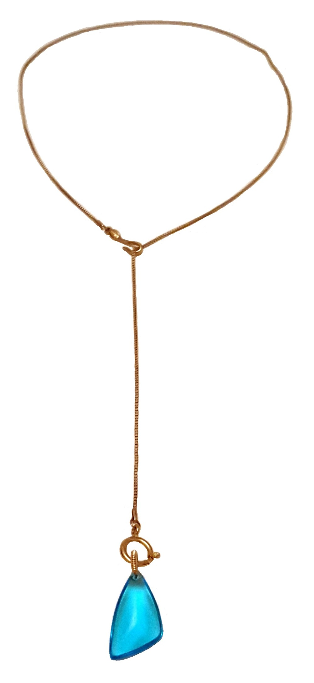 turquoise lariat necklace long