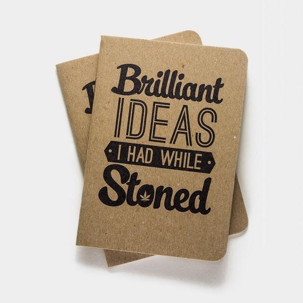 Brilliant Ideas Notebook, $9.99  Cool Materials