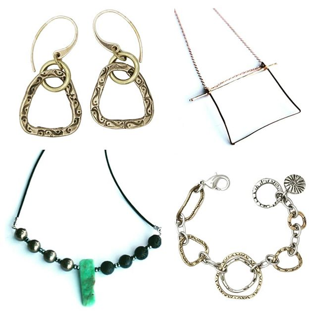 Hmmm, are you thinking this doesn't look like cebettes' designs?? Well you are right!! These lovelies are designed by my good friend and uber-talented jewelry designer Janice of @jdaviscollection  I am so fortunate to be joining her this Sunday in Louisville for a private trunk show. Would love to see you there as well! Msg me here or at cebette@cebette.com for info and directions!