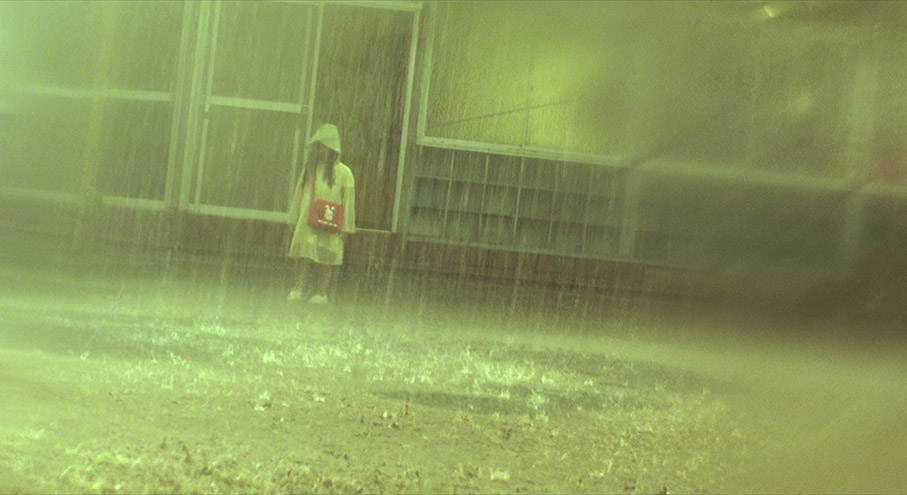 Hideo Nakata's  Dark Water  (2002) is a film saturated with constant downpours and leaks