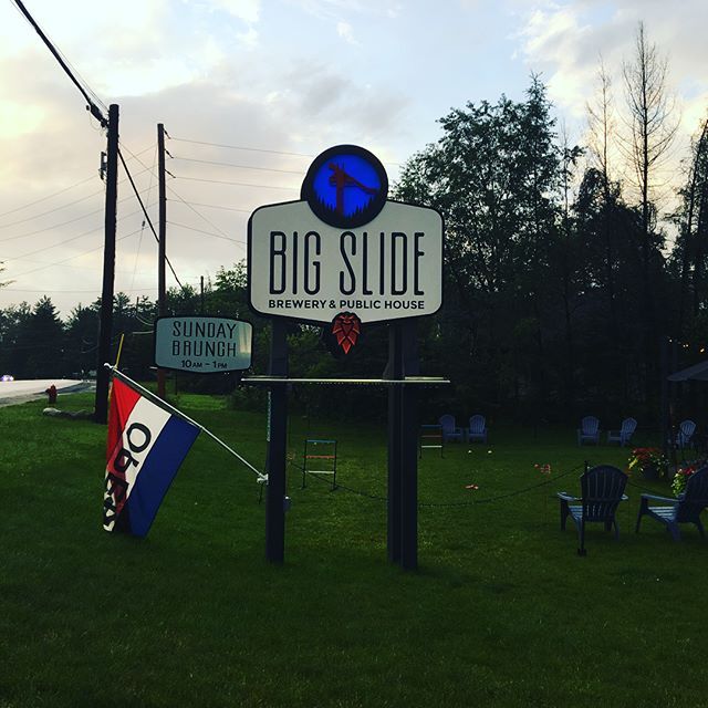 Awesome #brewery. @bigslidebrewery Our first visit and we loved it!