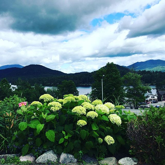 Our current view. #lakeplacid