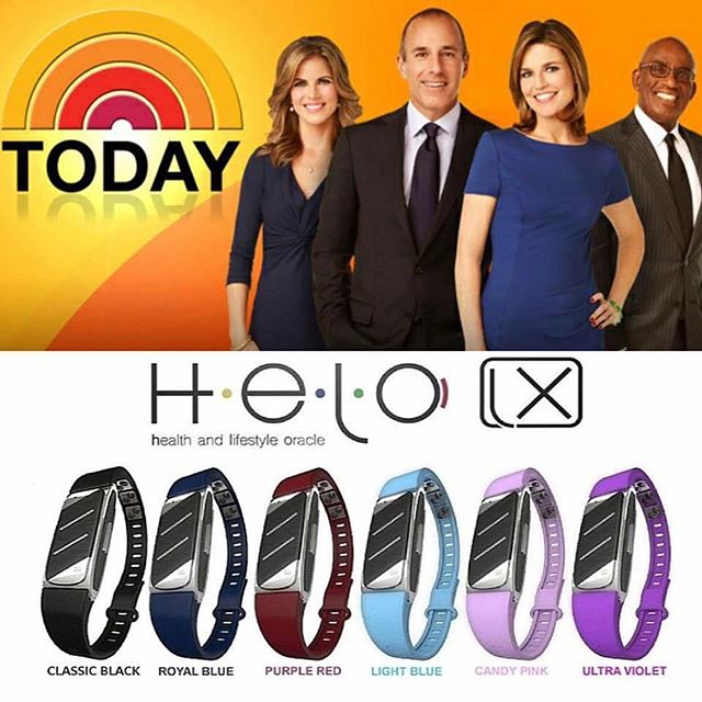 LINK IN PROFILE for more info. 🔥WOW!!!🔥 The TODAY SHOW will be featuring the HELO LX !! WOR(l)D never stops raising the bar!!! 😳😳😳 ***Tomorrow, Tuesday July 25th at 8:30 AM (All Time Zones) with Host Mario Armstrong!***** Don't forget to TUNE IN!!! Then connect with me to get your #HELO and/or to begin as a distributor on my amazing team!! I would love to partner in creating massive success with you!!! http://www.helo.fitness   and http://www.herheartbeat.worldgn.com ------ #WorldGlobalNetwork #WeAreWorldChangers 🌎🙌🏼#HELOLX #Wearables #tech #