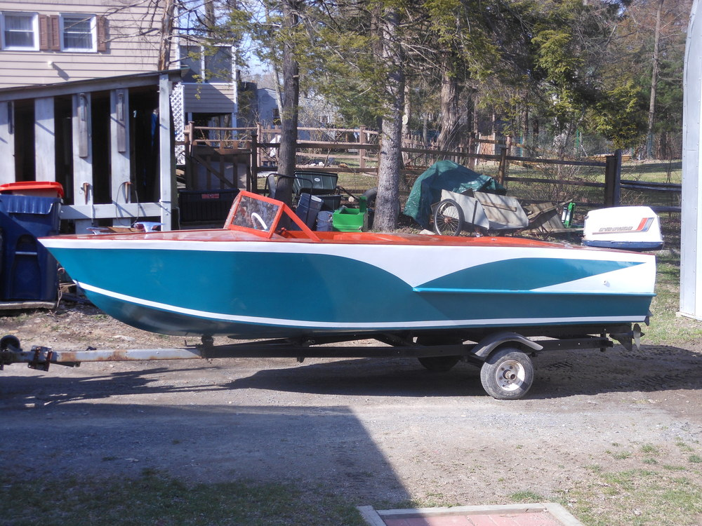 A 19xx kit boat restored by Hudson River Chapter member Greg Smith.