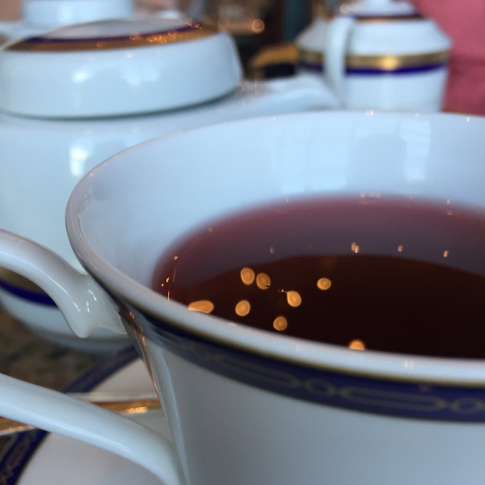 The Grand America Hotel Afternoon Tea Big Hibiscus Tea
