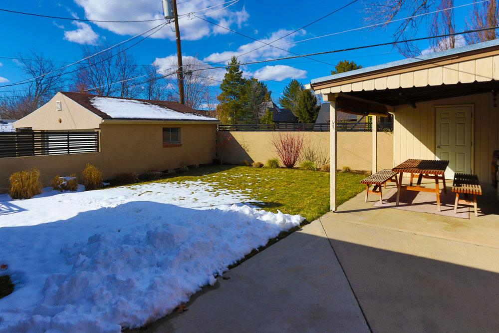 Backyard - 1571 E Harvard Ave, Salt Lake City, UT 84105