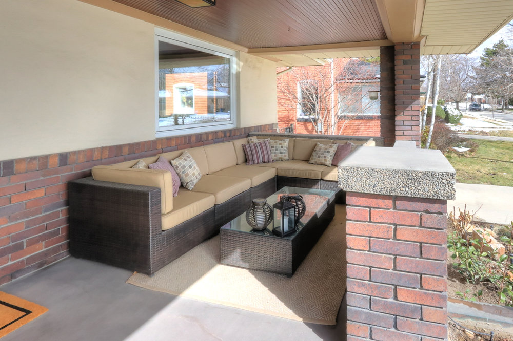 Front Porch - 1571 E Harvard Ave, Salt Lake City, UT 84105