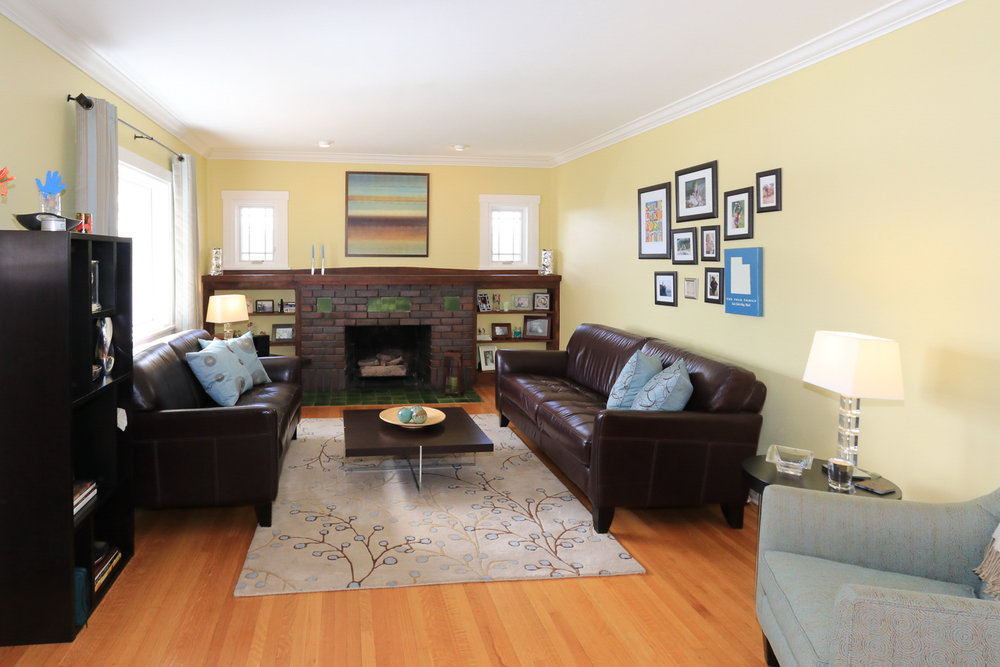 Living Room - 1571 E Harvard Ave, Salt Lake City, UT 84105