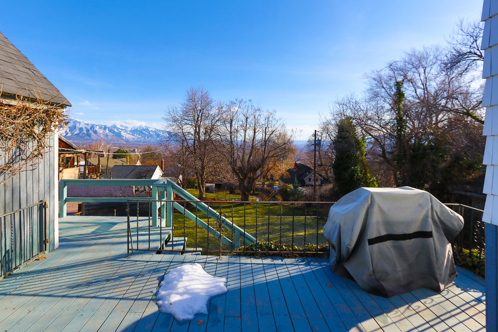 Back Deck - 526 11th Ave, Salt Lake City, UT 84103