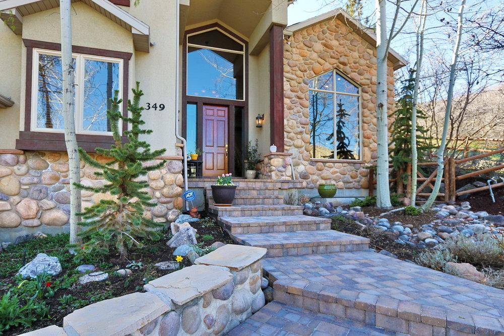 Front Door- 349 Middle Oak Ln, Emigration Canyon, UT 84108