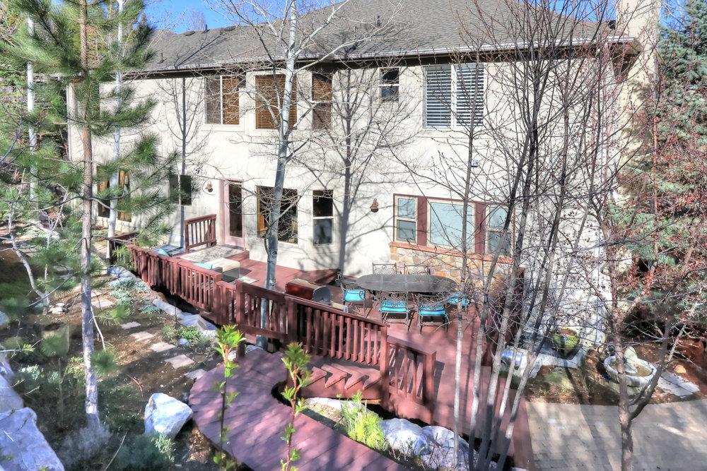 Backyard - 349 Middle Oak Ln, Emigration Canyon, UT 84108