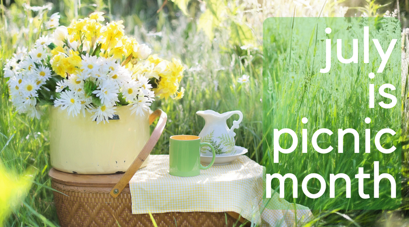 July is Picnic Month! Where will you picnic to participate?