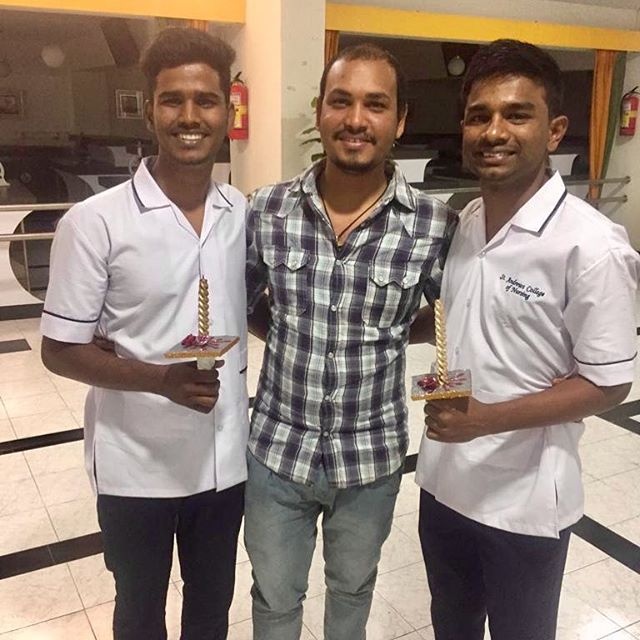 The three best nurses in India. #imnotbiased #butiamproud #nurses #childrestoration #welovethem #soproud