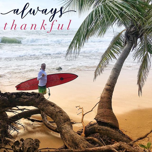 Feeling grateful and blessed.  Wishing a happy Thanksgiving to all. . . . . . . . . 📸 by: @m.bingen . #thanksgiving #grateful #blessed #thankyoulord #garymcneillconcepts #newsurfboard #surfboard #surfinglife #8'10 #gun #epicday #trespalmas #trespalmasreserve #rincon #puertorico