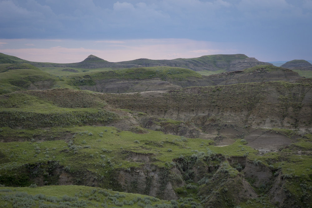 Sandstone Outcrops in Grasslands National Park