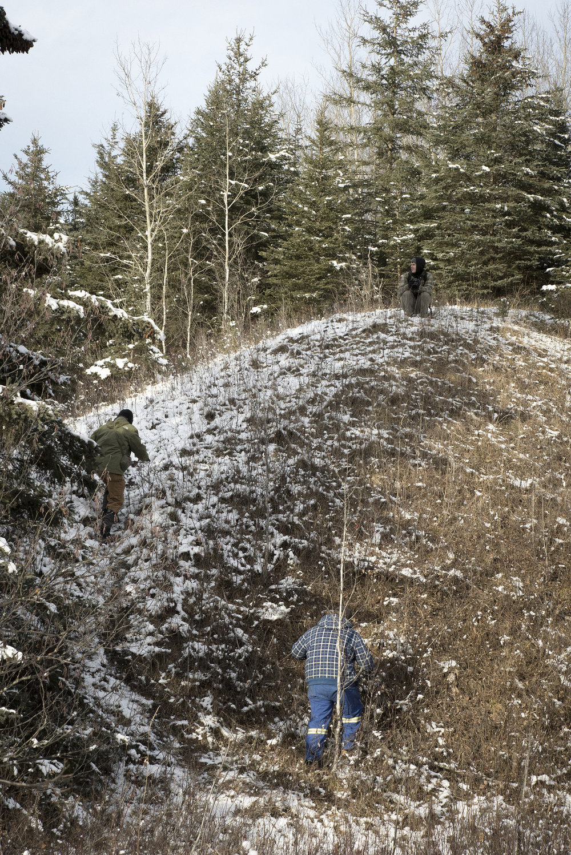 Climbing a ridge (Goodson)