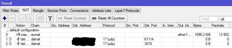 Mikrotik UPnP