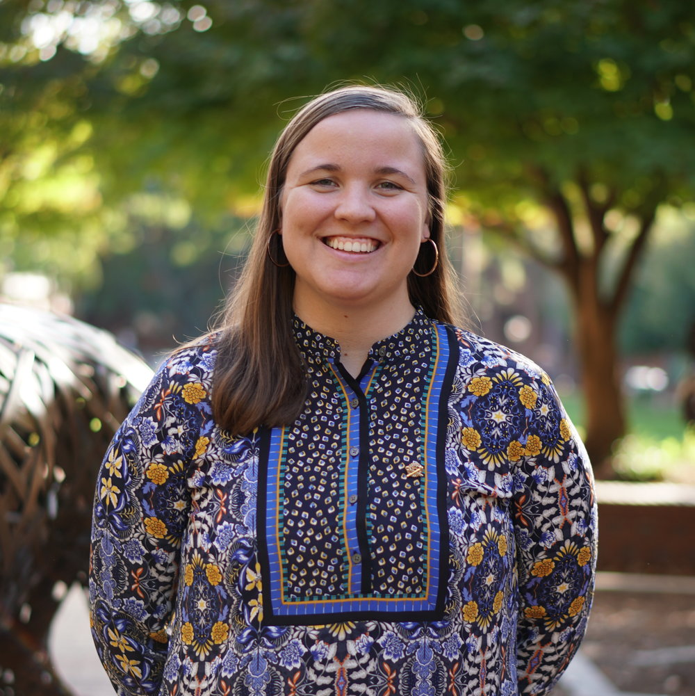 Chloe Wall - Senior, Electrical EngineeringMinor in StatisticsWinston Salem, NCECE Engineering AmbassadorInternship at Duke EnergyInternship at Samsung Austin SemiconductorPD Committee