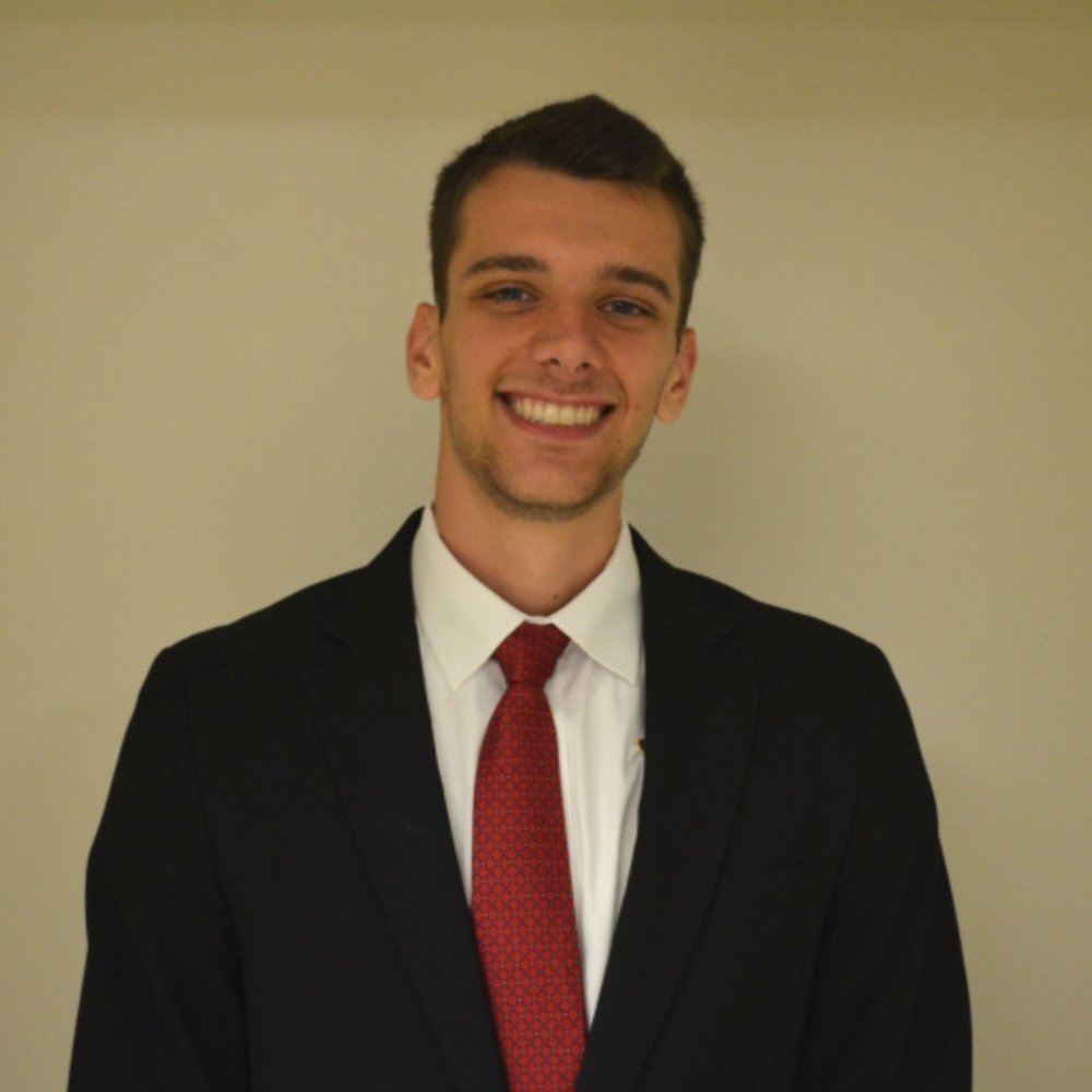 Ryan Winz - Junior, Industrial EngineeringCamden, NCAir Force ROTCSilver WingsCommunity Leader in the Impact Leadership VillageUK STEM Study AbroadBrotherhood Committee