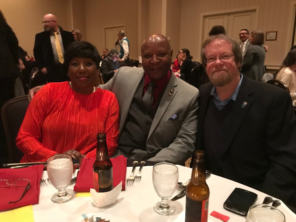 Lawanda Manning, Senator James Manning, and Looking Glass CEO Craig Opperman