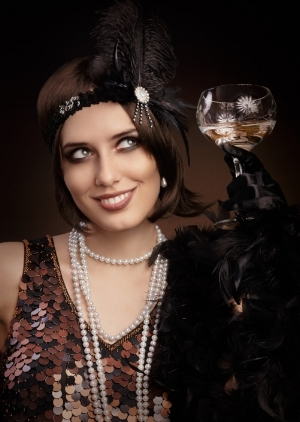 Flapper outfits and pearls will be in high demand - rent or buy yours today!